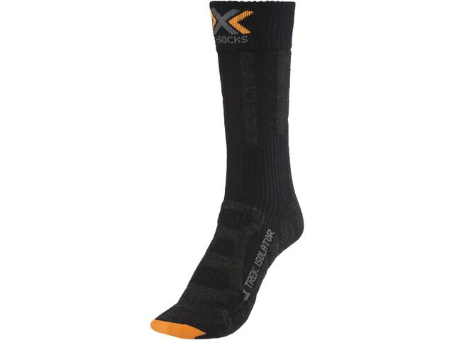 X-Socks Trekking Merino Isolate Sukat Miehet, black